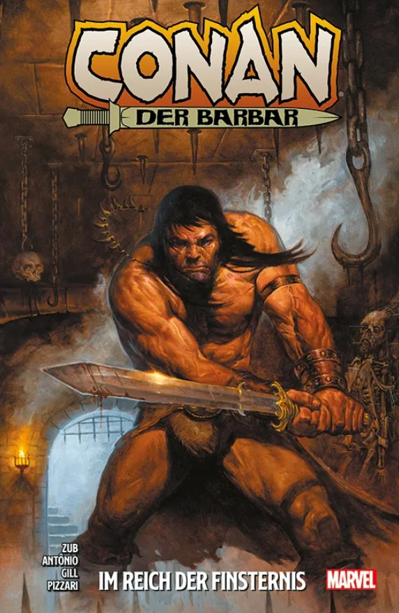 Cover Zub/Antônio - Conan der Barbar 3