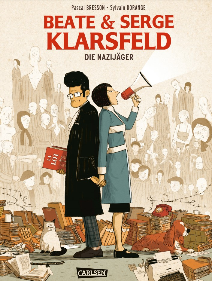Bresson/Dorange - Beate und Serge Klarsfeld Cover