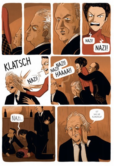 Die Ohrfeige von Beate Klarsfeld