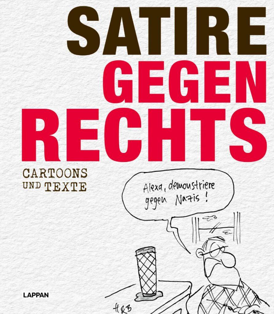 Cover Satire gegen Rechts