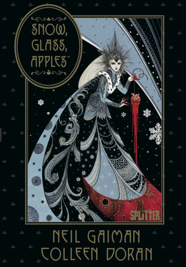 Cover Gaiman, Doran Snow, Glass, Apples