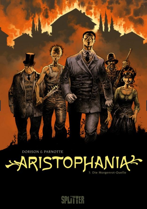 Dorison/Parnotte - Aristophania 3 Cover