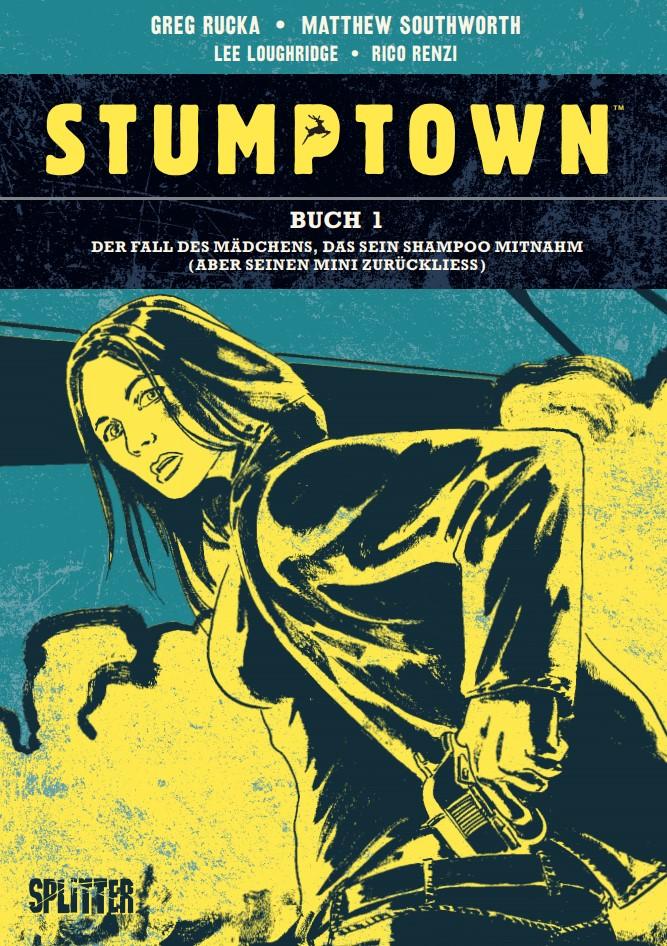 Cover Rucka/Southworth Stumptown 1