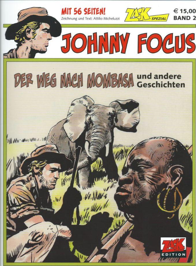 Cover Johnny Focus - ZACK Spezial 2