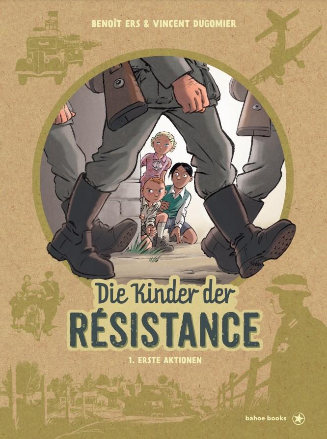 Cover Dugomir/Ers Kinder der Resistance 1
