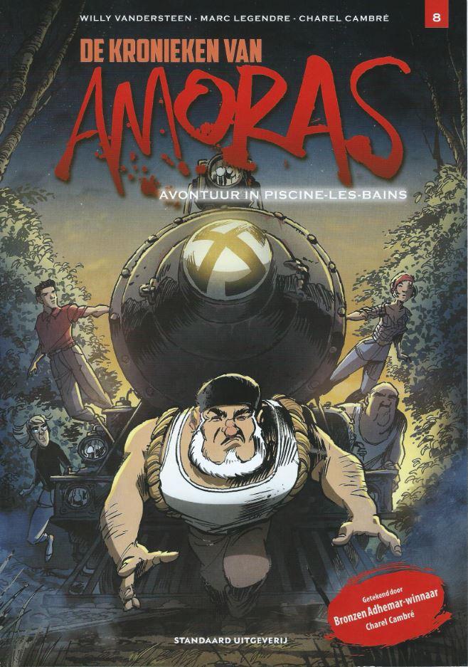 Legendre/Charel - Kronieken van Amoras 08 - Cover