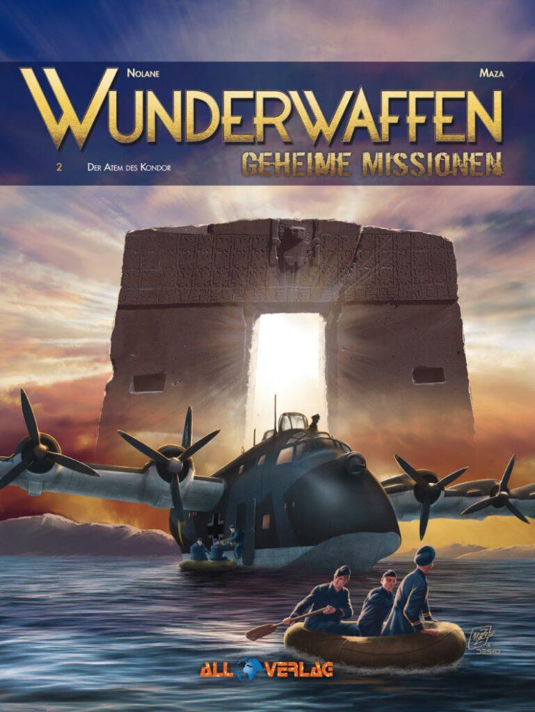 Cover Wunderwaffen - Geheime Missionen 02