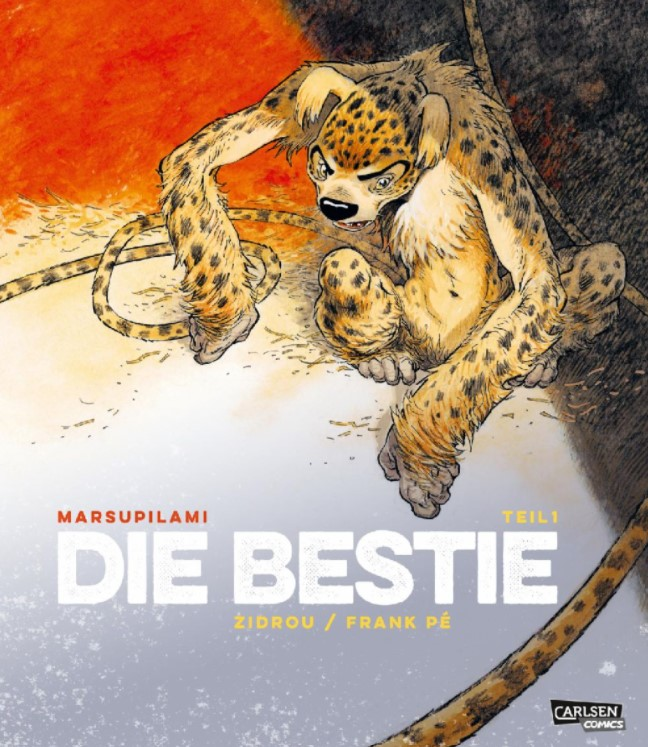 Zidrou/Frank Pé – Die Bestie 1 Cover