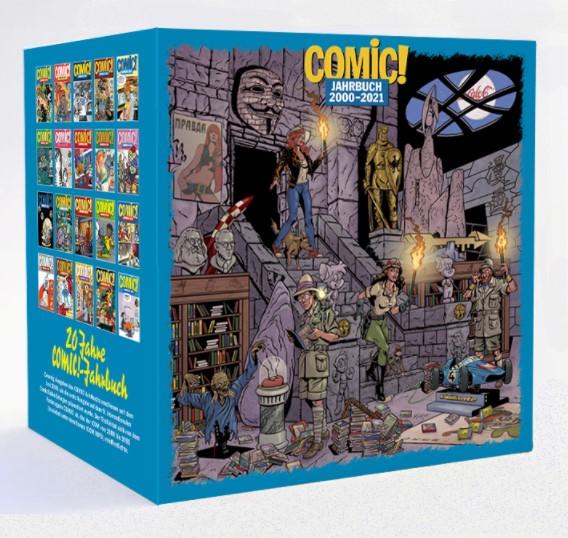 Schuber Comic! Jahrbuch