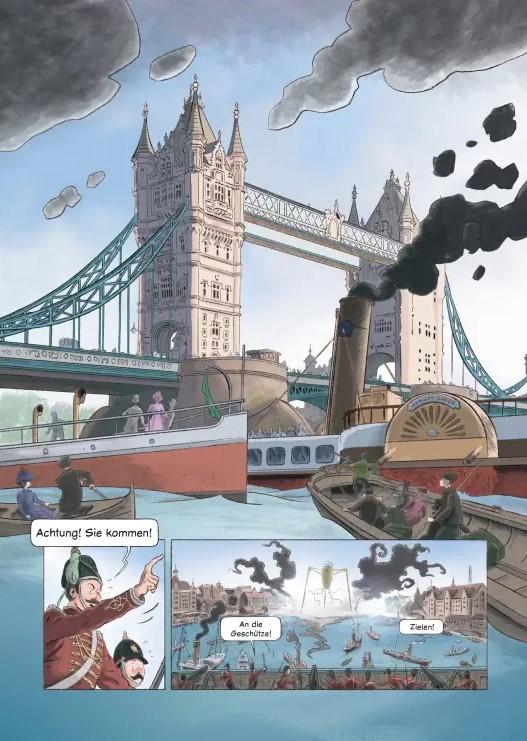 Detail aus Krapp Krieg der Welten 1