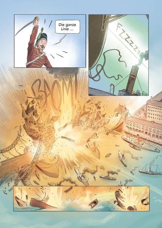 Detail aus Krapp Krieg der Welten 2