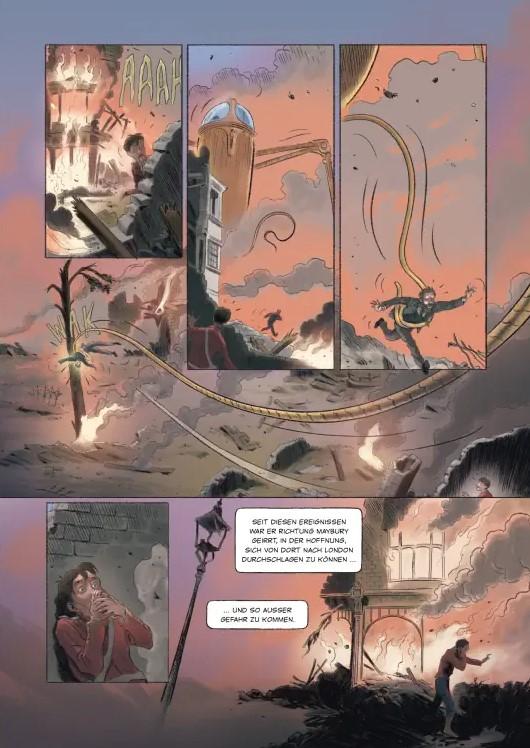 Detail aus Krapp Krieg der Welten 4