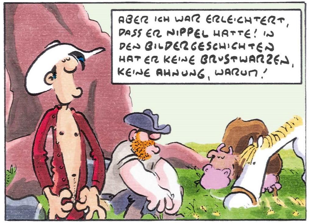 Detail Ralf König - Lucky Luke Hommage 5 page 3