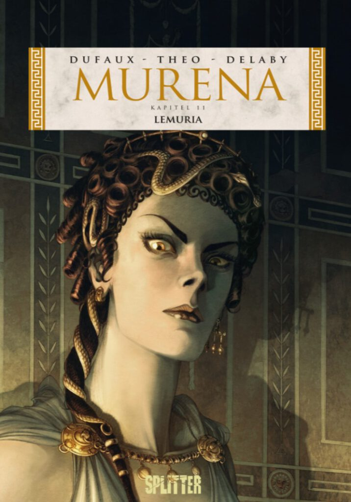 Dufaux/Theo/Delaby - Murena 11 Cover