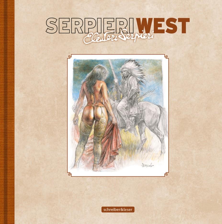 Cover Paolo Eleuteri Serpieri West