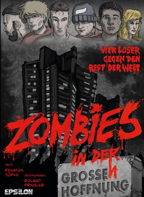 Zombies in der Grossen Hoffnung Cover