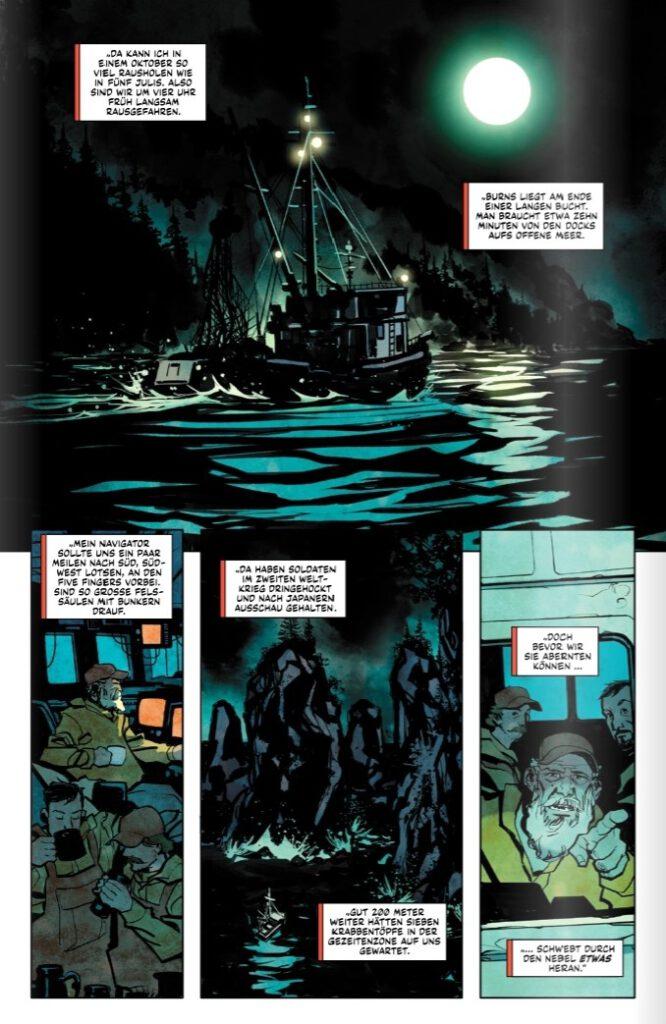 Wolverine - Im Dunkel der Nacht page 4