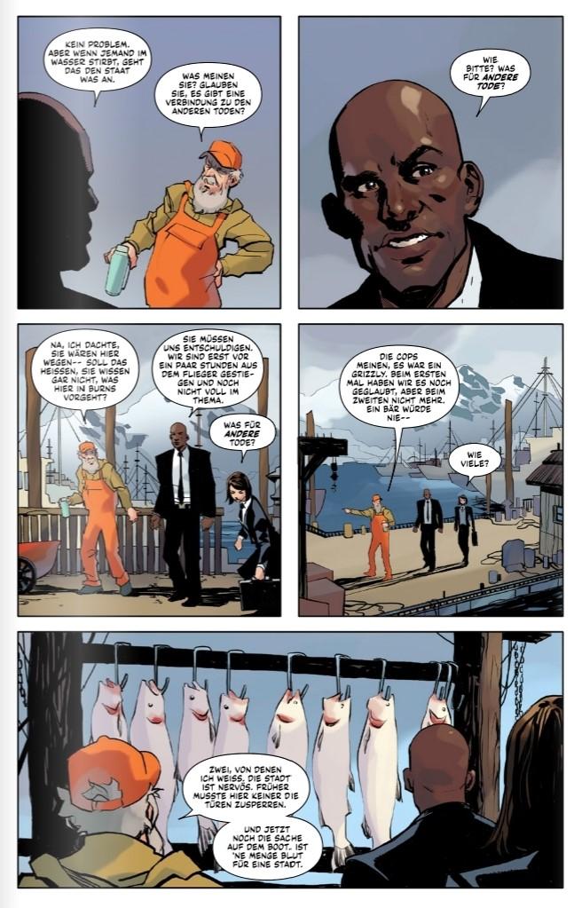 Wolverine - Im Dunkel der Nacht page 9