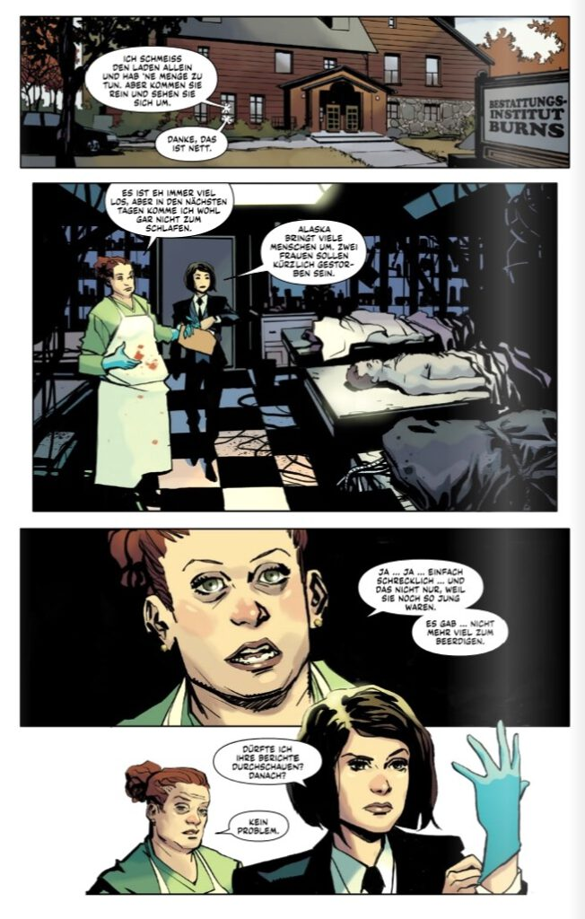 Wolverine - Im Dunkel der Nacht page 12