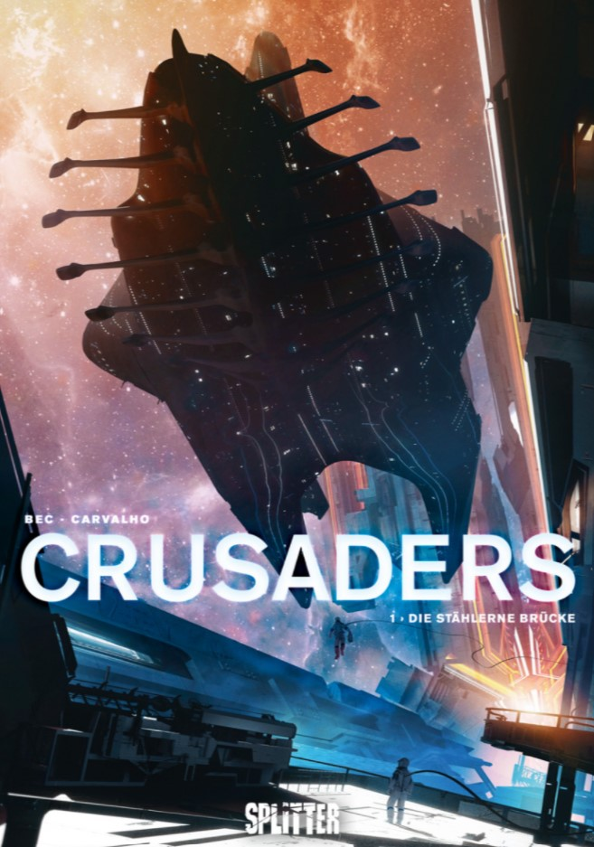 Cover Bec/Carvalho – Crusaders 1