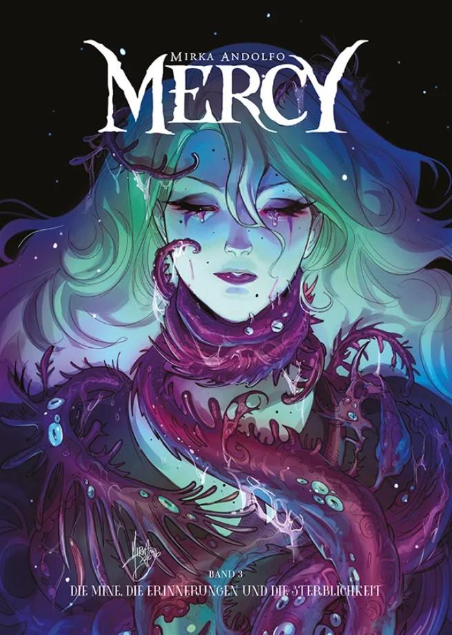 Andolfo - Mercy 3 Cover