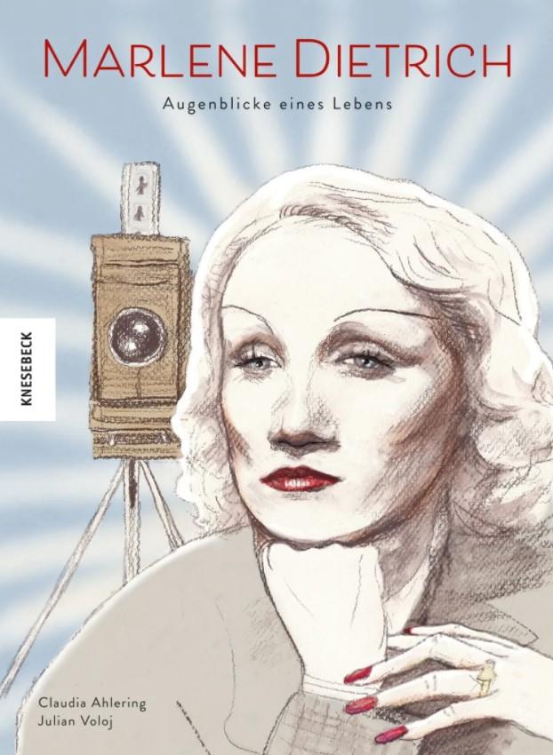 Cover Ahlering/Voloj – Marlene Dietrich
