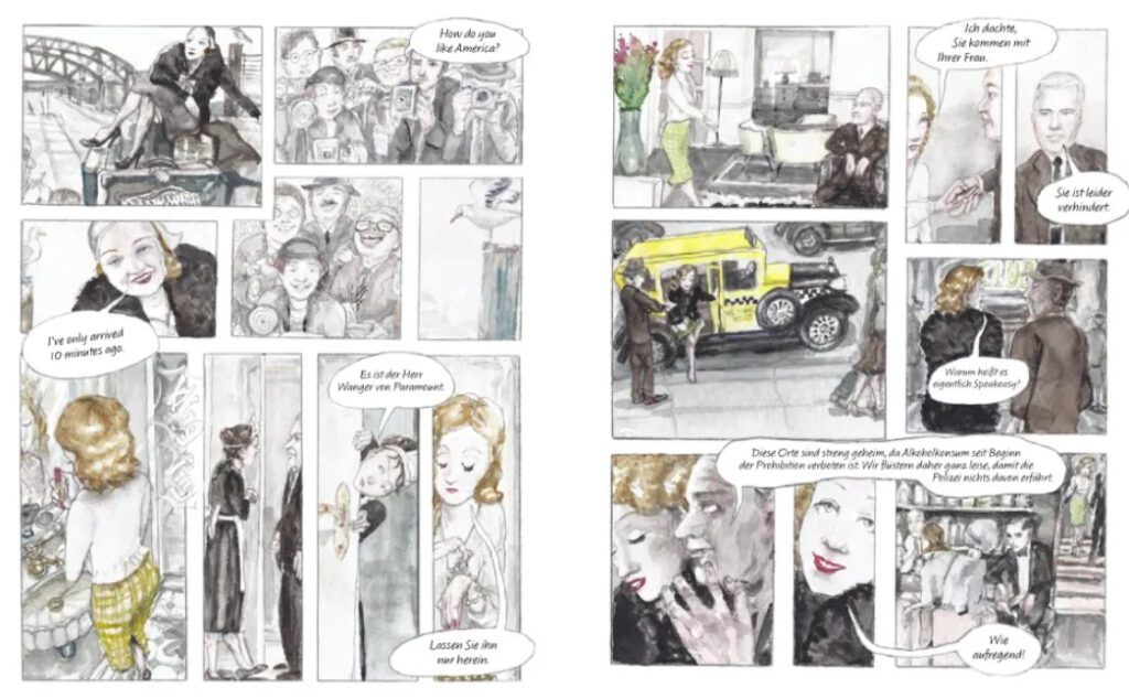 Ahlering/Voloj – Marlene Dietrich page 42/43