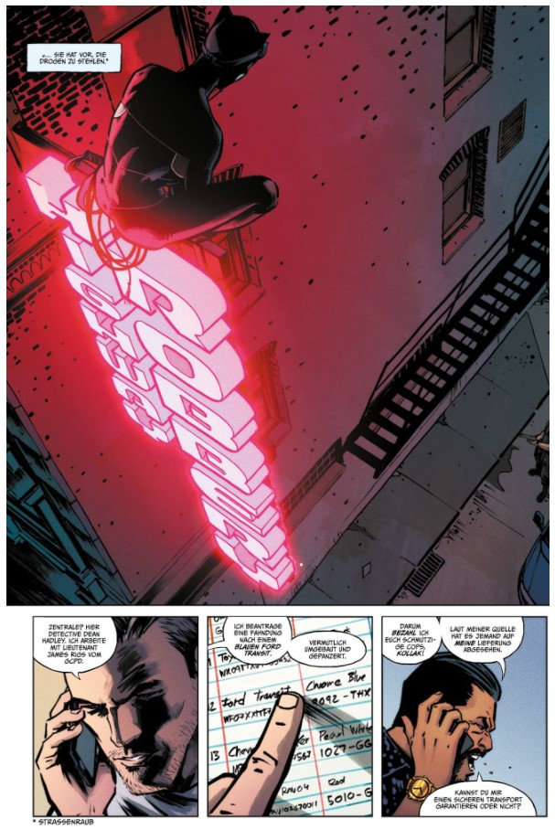 Catwoman 5 page 3