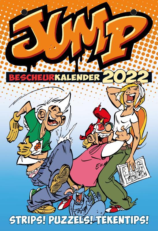 Cover JUMP Bescheur Kalender 2022