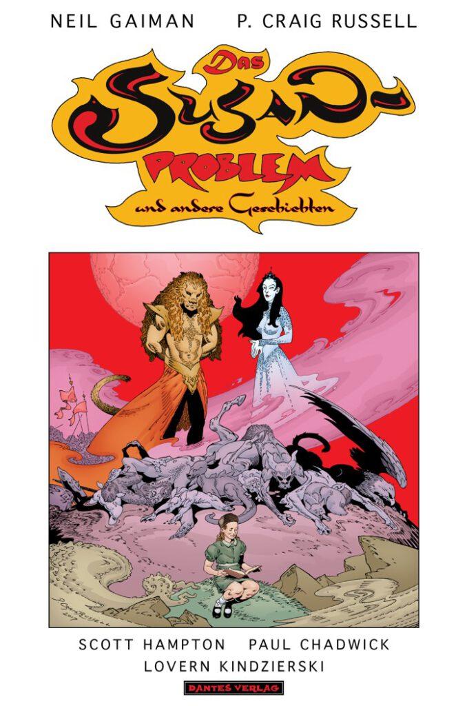 Cover Gaiman/Russel - Das Susan-Problem