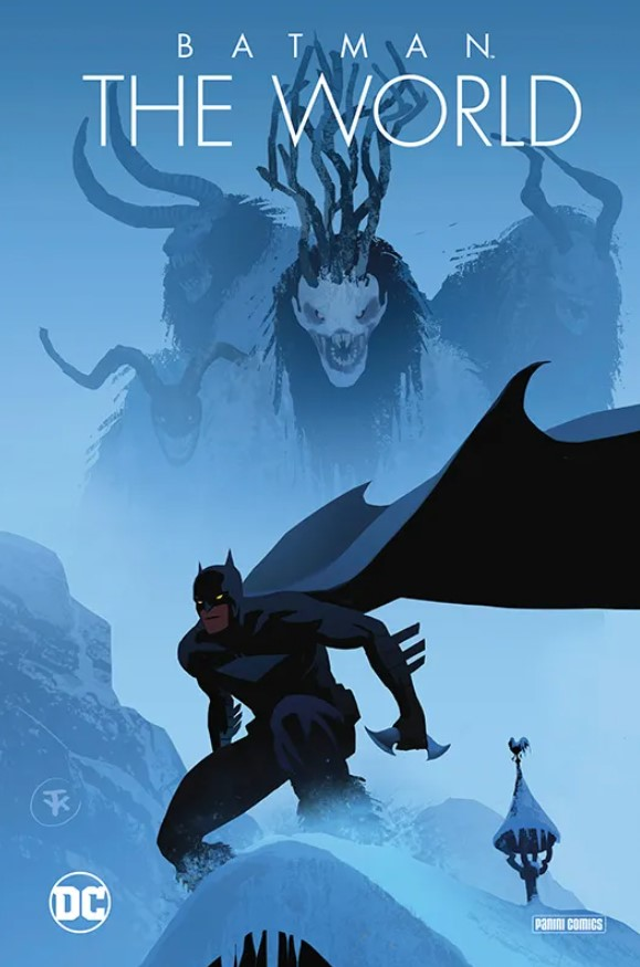 Batman - The World Cover Hardcover