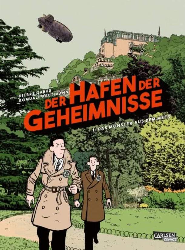 Cover Gabus/Reutimann – Der Hafen der Geheimnisse 1