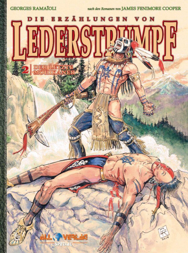 Cover Ramaioli Lederstrumpf 2 VZA