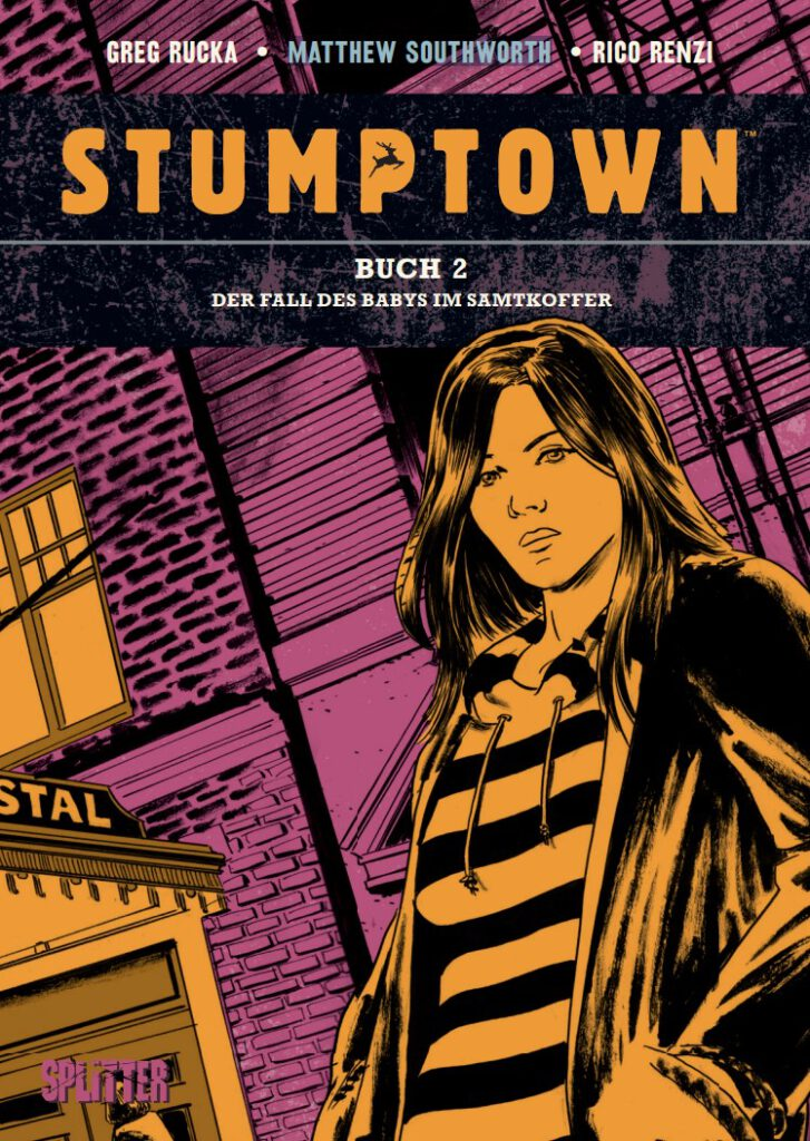 Cover Rucka/Southworth Stumptown 2